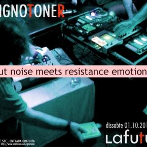 Actuació Ignotoner: dissabte 1 d'octubre a les20.30h