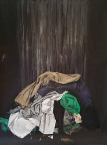 Pila-de-ropa-I---Oleo-y-barniz-sobre-papel---200x140-web
